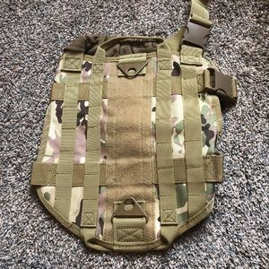Small tactical dog harness